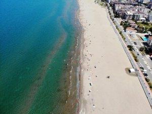 Samsun'da sahiller şenlendi