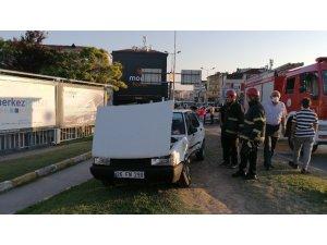 Kocaeli'de 2 otomobil çarpıştı: 1 yaralı