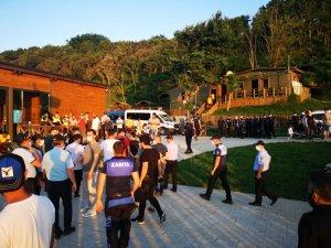 Riva'da İBB ile Beykoz zabıtaları arasında gerginlik