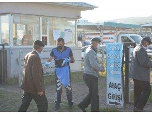Covid-19 nedeniyle kapatılan Ardahan canlı hayvan pazarı yeniden açıldı