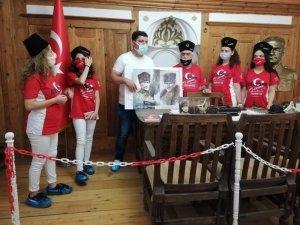 Şuhut Atatürk Evi'nde ziyaretçi yoğunluğu