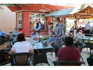 Hadim'de Kiraz üreticilerinin sorunları ele alındı