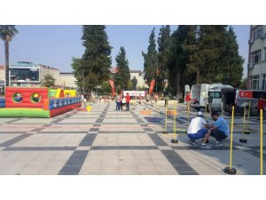 Sarıgöllü çocuklar pandemi stresini sporla attı