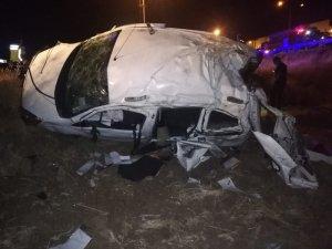 Cizre'de trafik kazası: 2 ölü, 4 yaralı