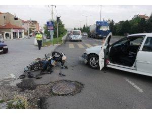 Tavşanlı'da trafik kazası: 1 yaralı