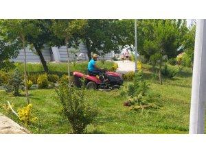 Başiskele'nin yeşil alanlarında doğal ve temiz işler