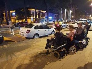Engelli vatandaşlara hatalı park engeli