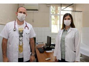 Kula Devlet Hastanesi'nde 3 yeni doktor göreve başladı