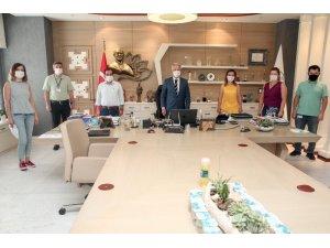 TÜM BEL-SEN'den Başkan Erdem'e ziyaret