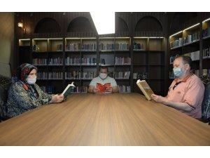 Kedili Tekke'de tedbirli okuma etkinliği