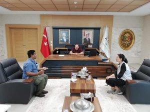 Başkan Bulut Yabancı STK temsilcileri ile bir araya geldi