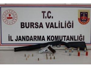 Bursa'da silah ticareti yapanlara operasyon
