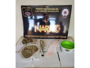 Keşan'da bir uyuşturucu taciri daha tutuklandı