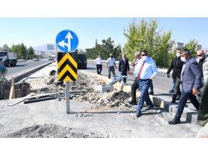 Başkan Gürkan, Anayurt Bulvarı'nda inceleme