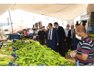 Vali Mahmut Çuhadar'dan Çelikhan'a ziyaret