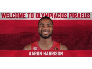 Olympiakos, Aaron Harrison'ı transfer etti