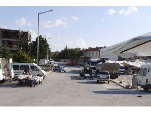 Konya'da pazar yerinde bıçaklı kavga: 2 yaralı