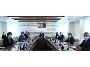 Bakan Karaismailoğlu AB Delegasyon Başkanı Berger ile görüştü