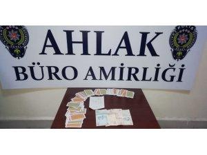 Malatya'da kumar ve fuhuş operasyonu