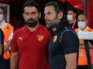 Süper Lig: Göztepe: 2 - Ankaragücü: 1 (İlk yarı)
