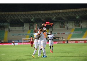 Galatasaray, ligde ilk kez Alanyaspor'a yenildi