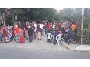 Ataşehir'de pes dedirten görüntü: Sosyal mesafeyi hiçe sayarak göbek attılar