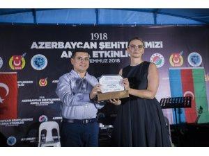 Azerbaycan'dan Tütüncü'ye  Bakü Türk Şehitleri Caddesi teşekkürü