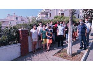 Kuşadası'nda mahalle sakinleri parklarını geri istiyor