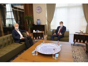 Kamil Saraçoğlu'dan Vali Ali Çelik'e tebrik ziyareti