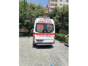 Diyarbakır  İl Sağlık Müdürlüğü, Iğdır  Üniversitesine ambulans hibe etti