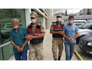 Arazide mahkemeye keşif yaptırmayan 2 kişi gözaltına alındı
