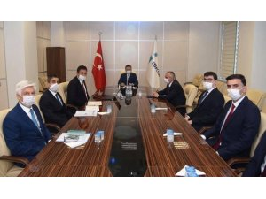 Vali Aksoy'dan İŞKUR Aydın İl Müdürlüğü'ne ziyaret