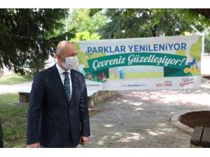 Yeşil alanda rekor üstüne rekor kıran Kocasinan'a yeni parklar