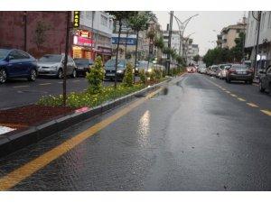 Nevşehir'de 3 saatte metrekareye 18,4 kilogram yağış düştü