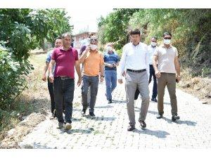 Aydın Büyükşehir ve Nazilli Belediyesi Hasköy'de ortak çalışma yapıyor