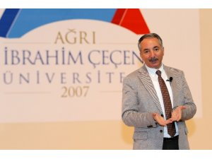 """AİÇÜ Rektörü Karabulut, """"Ağrı bir sağlık kenti olacak"""""""