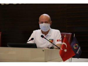 Kocasinan Belediye Meclisi'nden Kayserispor'a hep destek tam destek