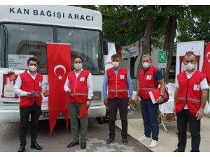 """Bafra'da """"Ulusal Güvenli Kan Temini Programı"""" uygulanmaya başlandı"""
