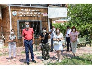 Mezitli'de aktif yaş alma evi kültür sanat merkezi haline geliyor
