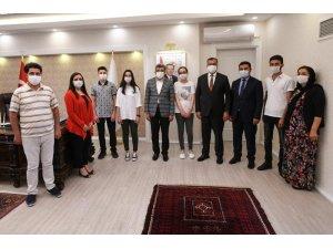 Vali Bilmez LGS Türkiye birincilerini ağırladı