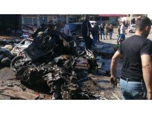 Lübnan'da freni patlayan kamyon dehşet saçtı: 5 ölü