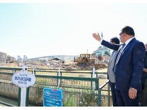 Beydağı kentsel dönüşüm projesini büyükşehir tamamlıyor