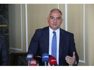 Bakan Ersoy, Çeşme Projesi için konuştu