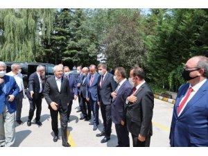 Başkan Şahin, CHP İl Belediye Başkanları toplantısına katıldı