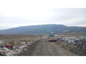 Safranbolu'da çöp depolama alanında düzenleme