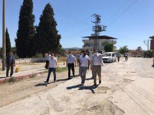 Gölmarmara'da 'Prestij Cadde' çalışması başladı