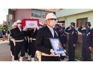 Şehit Pilot Polis Altunbaş, Kırıkkale'de son yolculuğuna uğurlanıyor