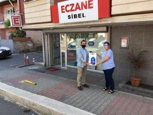 Eyüpsultan Belediyesi eczanelere ilaç poşeti dağıtıyor