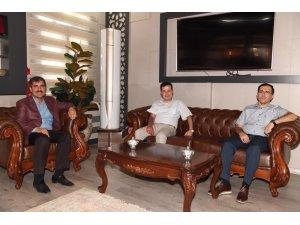 Vali yardımcılarından Başkan Asya'ya veda ziyareti