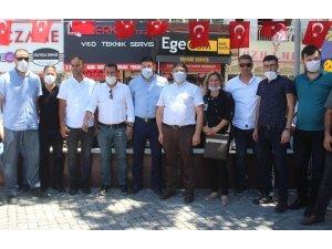 Edremit AK Parti teşkilatında Ayasofya Camii coşkusu
